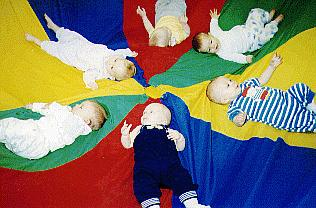 Babies in Parachutes